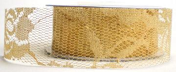 Metallic goud kantje