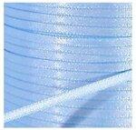 satijnlint 3mm lichtblauw