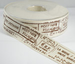 Cotton post stamps lint