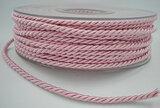 Gedraaid koord licht roze_
