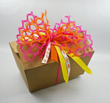Cadeau decoratie lint