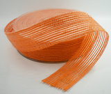 Oranje jute band 25mm