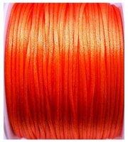 Oranje satijnkoord