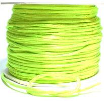 Satijnkoord neon geel