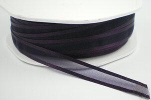 Organza satijn lint paars