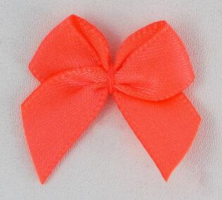 Neon oranje strikjes 50st