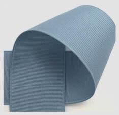 Grosgrain lint fransblauw 10mm