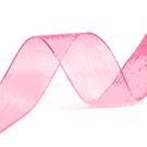 10 mm roze organza lint