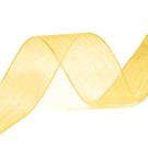 10 mm geel organza lint