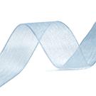 Organza lint lichtblauw 10mm