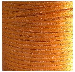 3 mm oranje Silverline lint