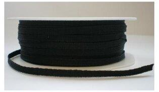 Zwart texture lint, 3 mm