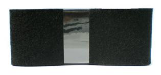 Vilt Zwart 80 mm