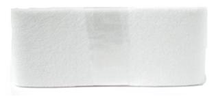 Vilt wit 80 mm