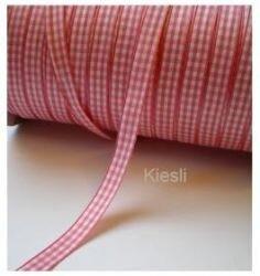 Roze geruit 9 mm