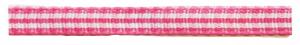 Roze geruit 5 mm