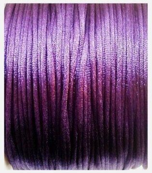 Satijnkoord paars