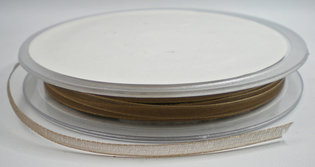 Organza lint taupe 3mm