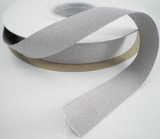 Soft satijnlint Lichtgrijs|16mm