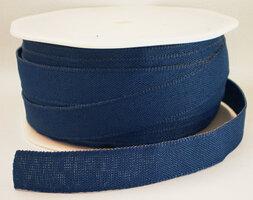 Texture lint smoke blauw,12mm