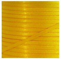 Satijnlint 3mm geel