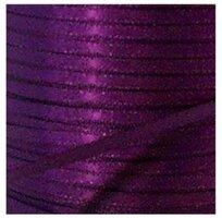 Satijnlint paars 3mm