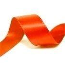 Satijnlint 16mm oranje
