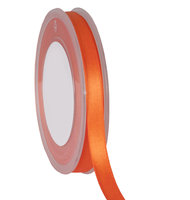 Satijnlint df oranje 10mm