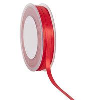 6 mm rood df satijnlint