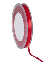 Satijnlint DF rood,3mm