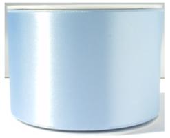Lichtblauw satijnlint,70mm