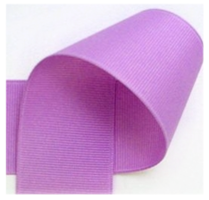 10 mm lila grosgrain
