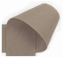 10 mm taupe grosgrain