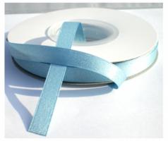 9 mm lichtblauw Silverline lint