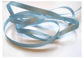 6 mm lichtblauw Silverline lint