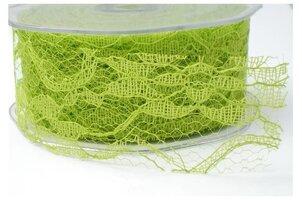 Kant Flower lace heldergroen