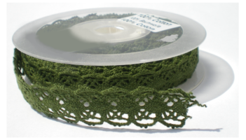 Groen folk lace,cotton