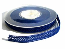 Donker blauw kantje 10mm