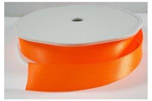 Neon oranje satijnlint,25 mm