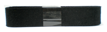 Vilt Zwart 38 mm