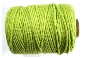 Cotton cord appelgroen