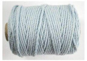 Cotton cord, Lichtblauw