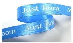Just born lint,capri blauw