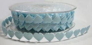 Chained hearts bandje lichtblauw