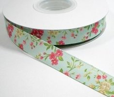 Blossom lint lichtblauw 16mm