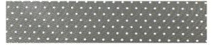 Grijs lint met stipjes, 16mm