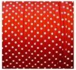 Rood stipjes lint, 3mm