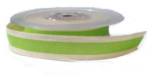 Cotton stripe lint groen