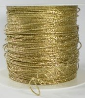 Metal cording wired,goud