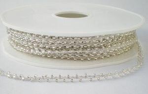 Beadscord zilver